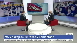 ŠTÚDIO TA3: Tréner Ľ. Pokovič o MS v hokeji do 20 rokov
