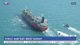 Plavidlo prepravovalo tisícky ton etanolu, Irán tanker zadržal