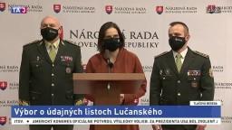 TB ministerky M. Kolíkovej po výbore k prípadu M. Lučanského