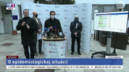 TB ministra M. Krajčího aj o vplyve novej mutácie vírusu na situáciu v SR
