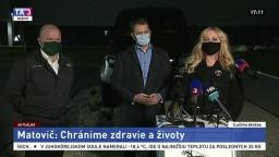 TB premiéra I. Matoviča o testovaní v závode Jaguar Land Rover Slovakia