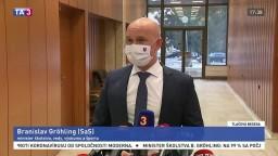 TB ministra B. Gröhlinga po rokovaní vlády o režime v školách