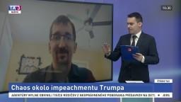 ŠTÚDIO TA3: Analytik M. Reguli o chaose okolo impeachmentu Trumpa