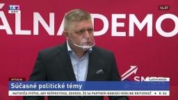 TB predsedu Smeru-SD R. Fica aj o chaose vo vládnej koalícii