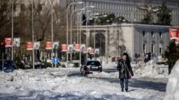 Sneh spôsobil obrovské škody, Madrid chce vyhlásiť núdzový stav