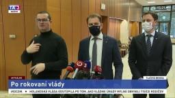 TB premiéra I. Matoviča po rokovaní vlády o celoplošnom testovaní
