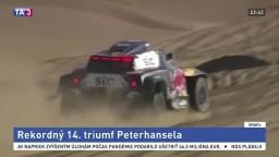 Kategóriu motocyklov ovládol na Rely Dakar opäť Peterhansel