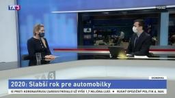 HOSŤ V ŠTÚDIU: J. Oršuliaková o roku 2020 v automobilovom priemysle