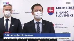 TB ministra financií E. Hegera o odklade splátok úverov