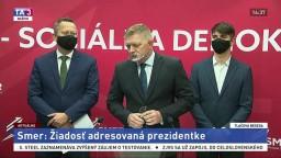TB predstaviteľov Smeru-SD o žiadosti adresovanej prezidentke