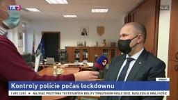 Prezident PZ P. Kovařík o kontrolách polície počas lockdownu