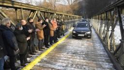 Dočasný most nevydržal ani týždeň, kraj chce komplexnú opravu