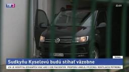 Žilinská sudkyňa Kyselová, ktorú zadržala NAKA, ide do väzby