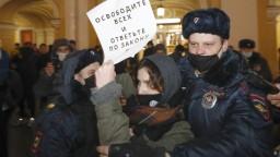 Putin prirovnal protesty k útoku na Kapitol, EÚ sa na sankciách nedohodla