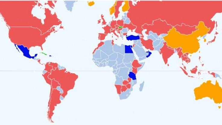 Kam môžeme cestovať? Covid mapa s prehľadom bezpečných krajín a opatrení