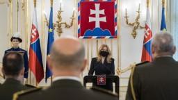 Prezidentka vymenovala generálov. Hovorila aj o našej úlohe v NATO