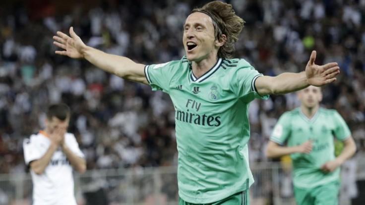 Luxusný Modrič ostane v Reale Madrid