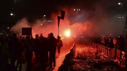 Reportér F. Harzer o protestoch proti interrupčnému zákonu v Poľsku