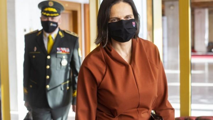 Kolíková chce pozastaviť funkciu stíhanej žilinskej sudkyni