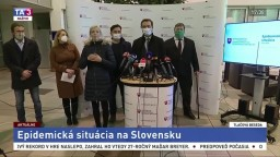 TB ministra M. Krajčího o epidemickej situácii na Slovensku