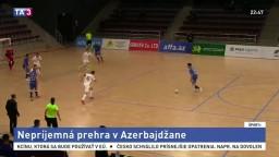 Slovenskí futsalisti v Azerbajdžane prehrali, rozhodlo sa na záver