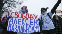 Chcú slobodnú krajinu. Ľudia protestujú za Navaľného prepustenie