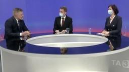Ostrý duel Fica a Remišovej v TA3: Slová o gestape aj slabom premiérovi