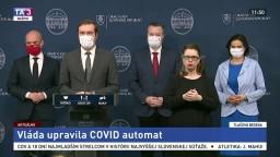 TB predstaviteľov vlády o úprave Covid automatu