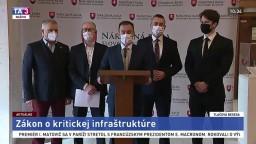 TB predstaviteľov OĽANO o zákone o kritickej infraštruktúre