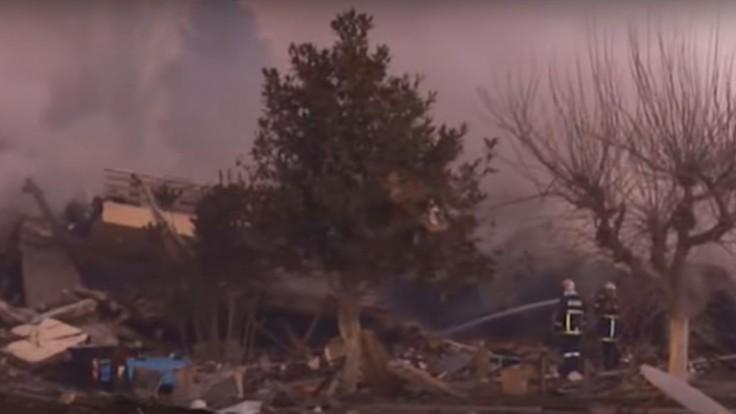 Obrovský výbuch zrovnal grécky hotel so zemou