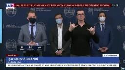 TB I. Matoviča a predstaviteľov vlády o spustení Covid automatu