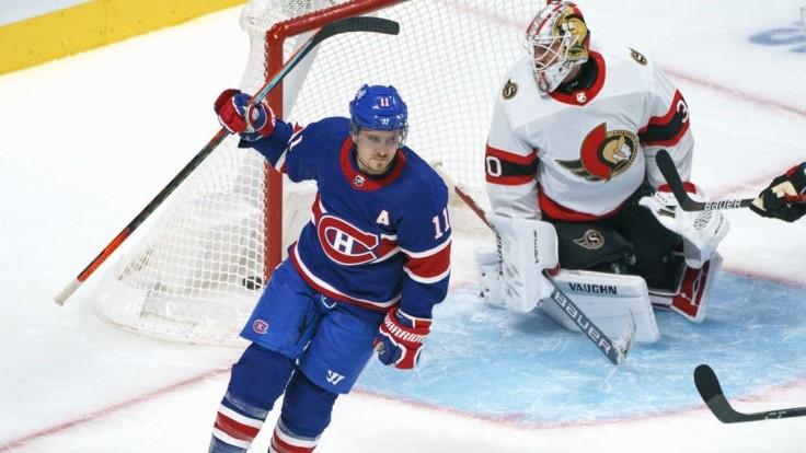 NHL: Montreal s Tatarom vrátili úder v Ottawe, zápas Bostonu odložili