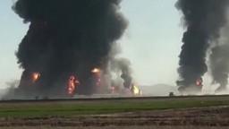 V Afganistane vybuchla cisterna, z miesta stúpal hustý čierny dym