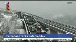Mrazivé počasie má obete. Z Talianska hlásia hromadnú zrážku