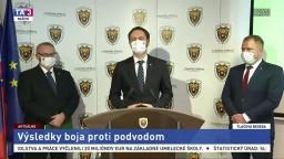 TB J. Žežulu, E. Hegera a M. Homolu o výsledkoch boja proti podvodom