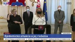 TB prezidentky Z. Čaputovej po stretnutí s expertmi v súvislosti s pandémiou