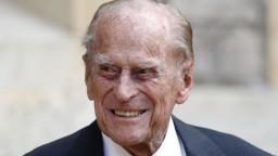 Takmer storočný princ Philip je v nemocnici. Necítil sa dobre