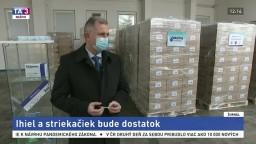 Chirana podáva pomocnú ruku. Slovensku dodá štyri milióny striekačiek