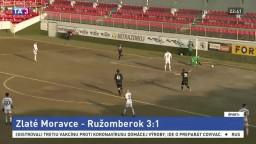 Zlaté Moravce zdolali Liptákov. Dvoma gólmi potiahol Kovaľ