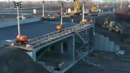 Výstavba križovatky diaľnic napreduje, pomohla aj unikátna technológia