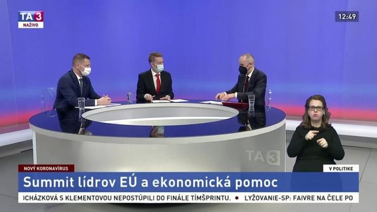Eurokomisia bola pri vakcínach trocha naivná, zhodli sa Valášek a Kmec