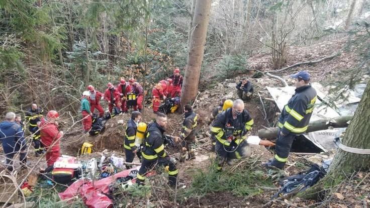 Tragédia v Štiavnici: Šachtu stráži polícia, telá ešte nevytiahli