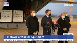 TB I. Matoviča, M. Krajčího a P. Jarčušku o vakcíne Sputnik V