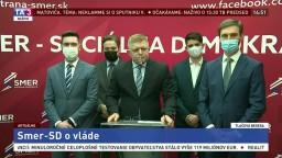 TB predsedu Smeru-SD R. Fica aj o vakcíne Sputnik V