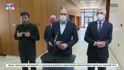 TB predsedu SaS R. Sulíka o možnej rekonštrukcii vlády