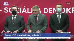 TB predstaviteľov strany Smer-SD o koaličnej kríze a o Sputniku V