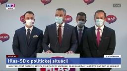 TB strany Hlas-SD o koaličnej kríze a nezvládaní pandémie