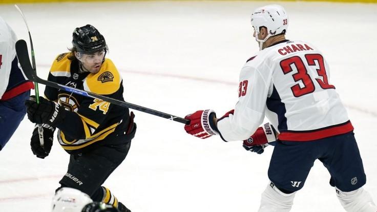 NHL: Chára nastúpil proti bývalému klubu. Z triumfu sa tešil Halák