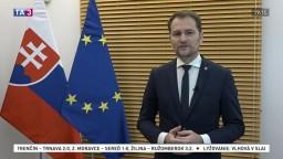 Vyhlásenie premiéra I. Matoviča k roku pandémie na Slovensku