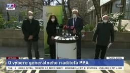 TB ministra J. Mičovského o výbere generálneho riaditeľa PPA